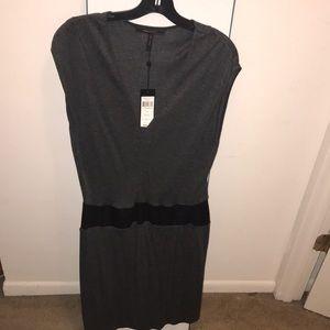 Grey BCBG dress